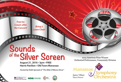 August 21, 2016 - Sounds of the Silver Screen
